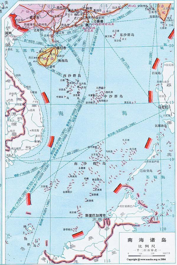 南海九段线之内都是中国领海吗?