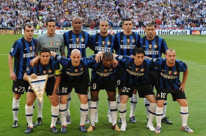 你記憶最深的國際米蘭隊陣容是什么?圖片