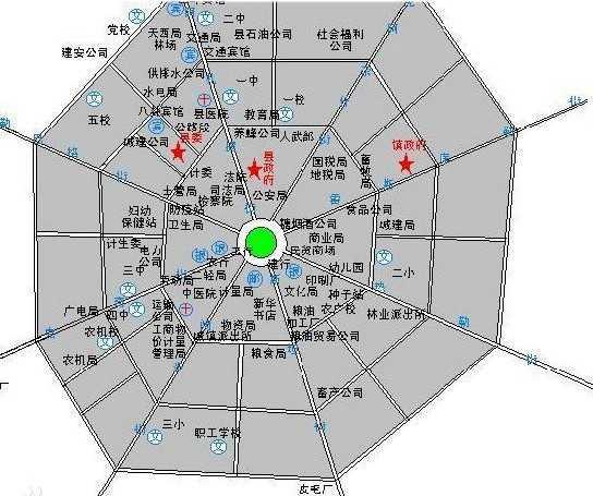 中国唯一建筑完整而又正规的八卦城--新疆特克斯 - 冬日暖陽 - 缘来如此心动