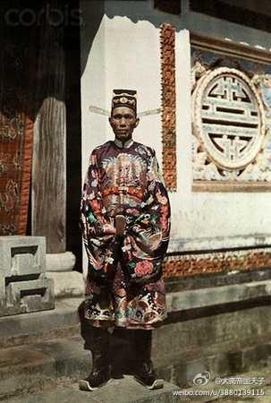 越南阮朝服饰和汉服有哪些异同?