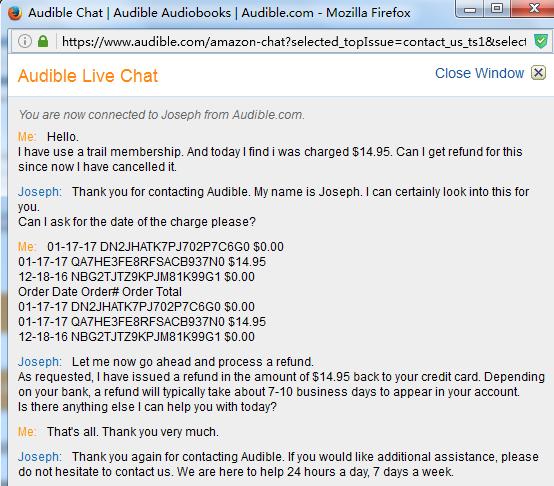 如何取消Audible 金卡会员,并退回会费? - 知乎