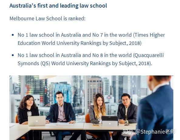 澳洲法律JD专题一:墨尔本大学法律硕士有哪些专业?法律JD要求是