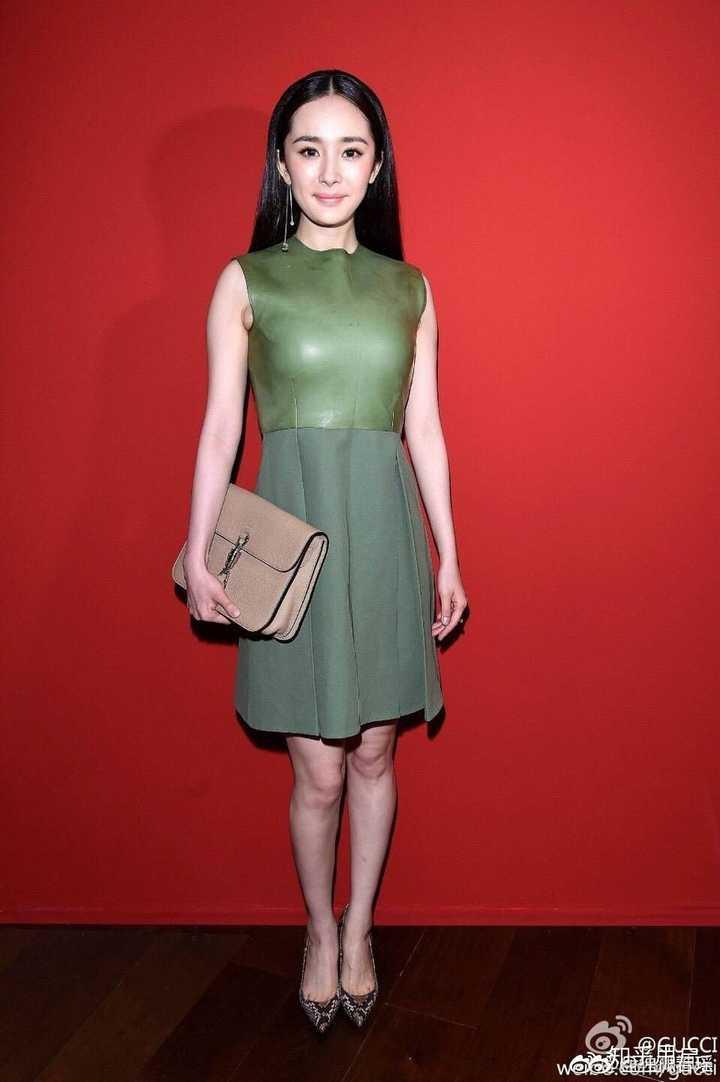 为女名星开包_中国女明星里谁的腿特别好看?