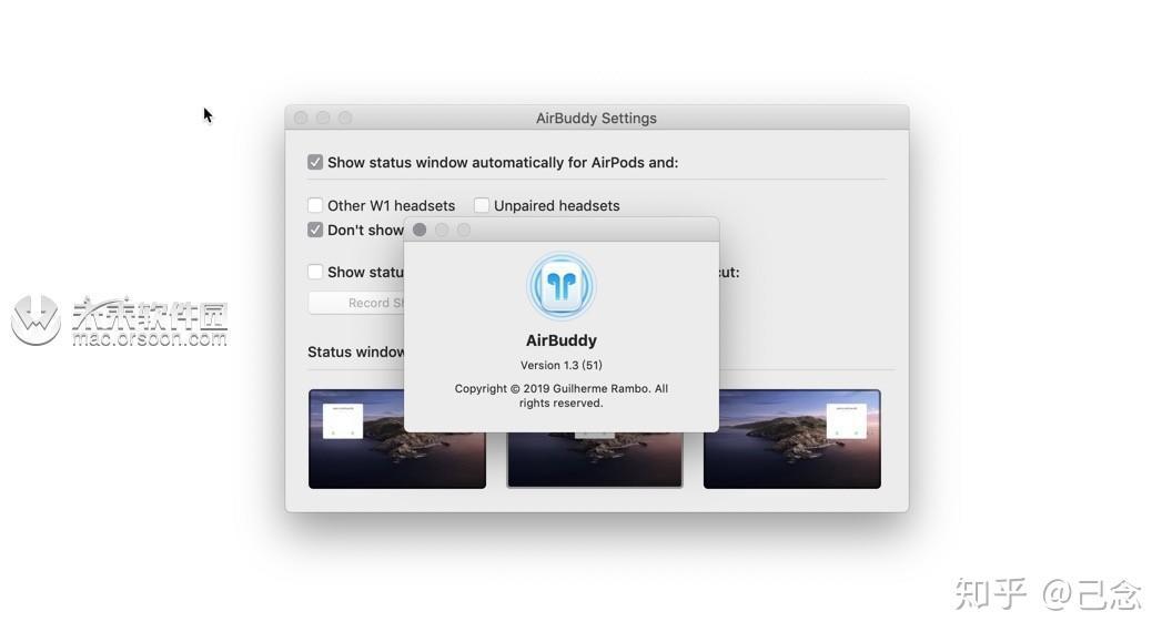 AirPods耳机管理工具AirBuddy Mac 1 3已激活版- 知乎