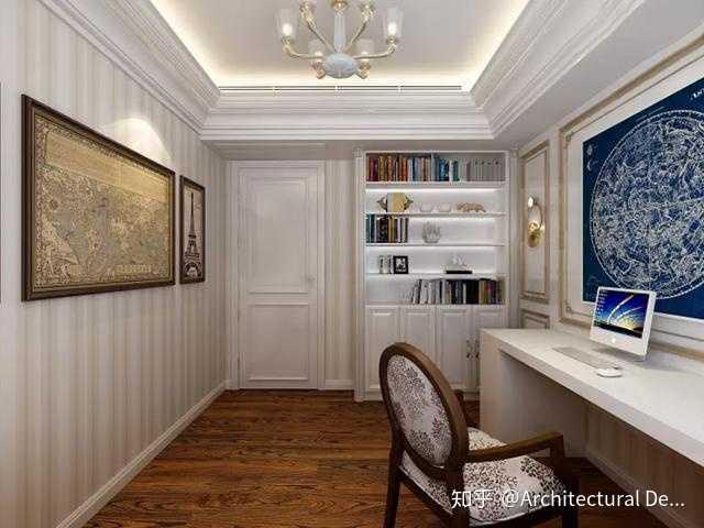 110平米,三室兩廳,裝修美式風格好看嗎?