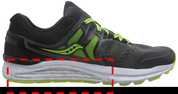 即平常所说的稳定型、支撑型鞋型;