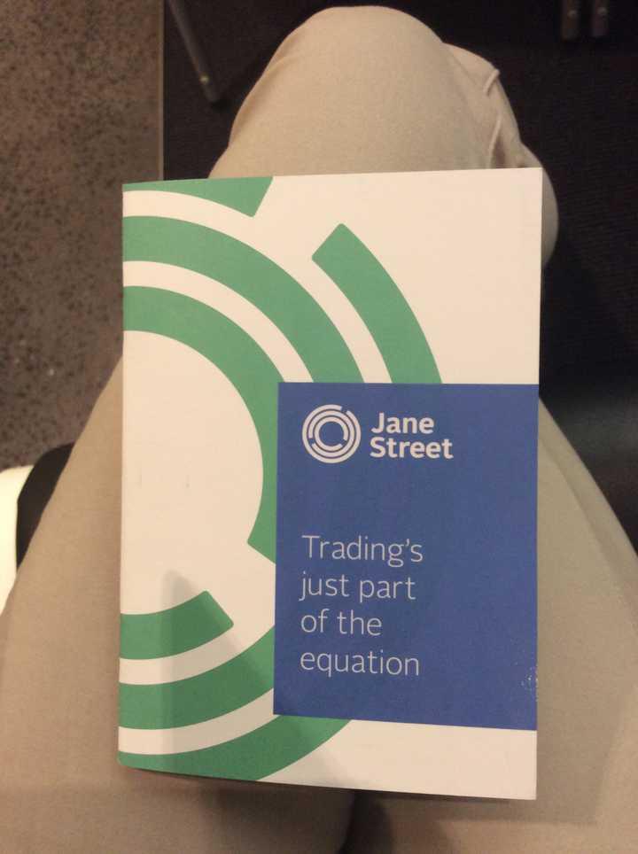 Jane Street 是家什么样的公司? - 知乎