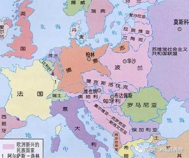 法国和德国在历史上水火不容,为何现在关系非