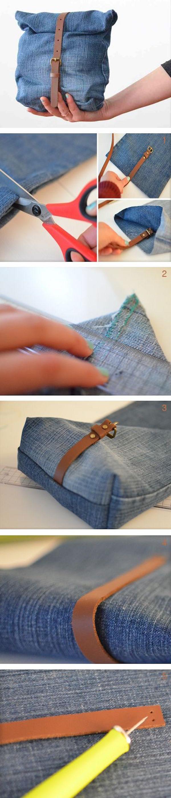 不穿的牛仔裤怎么活用?