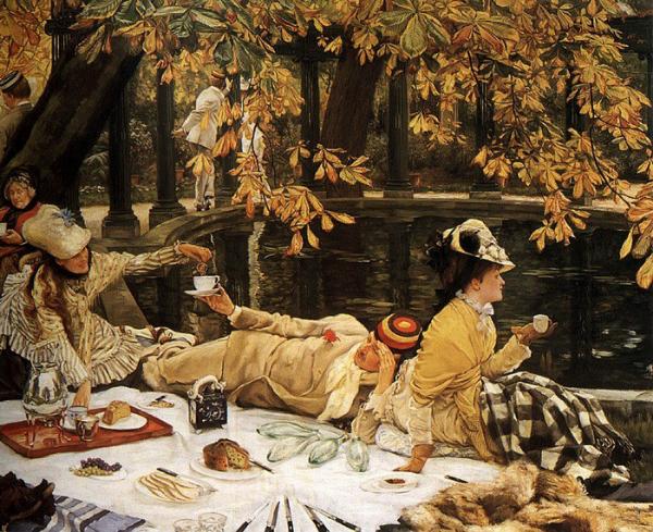 贤士朝圣_西方油画里的那些中国茶具 - 知乎