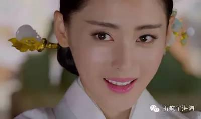 雷人 张芃芃 手机 太子妃 花边/那么问题来了,这神奇的古风一字眉怎么画出来呢?