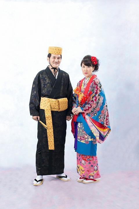 琉球人_琉球人的民族服饰.