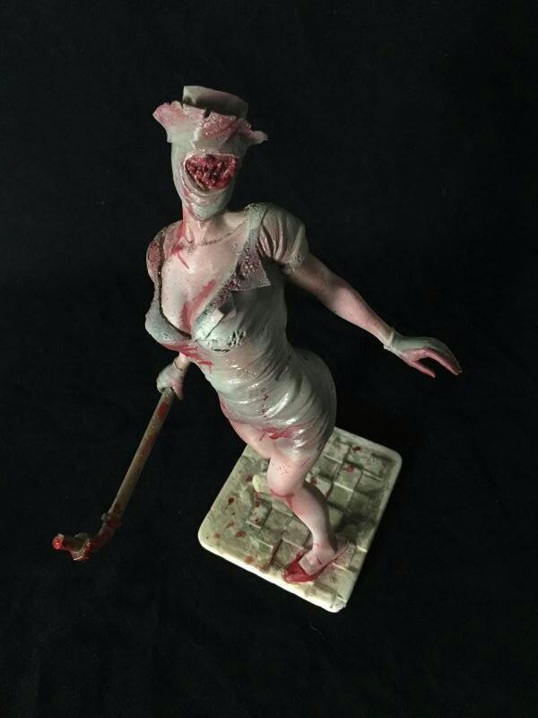万圣节系列——寂静岭里的清纯小护士(多图慎入)