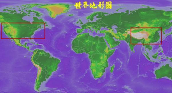 中国地理三大阶梯图_为什么国外的公路路面跟地面都是平齐的,而我们国内的公路 ...