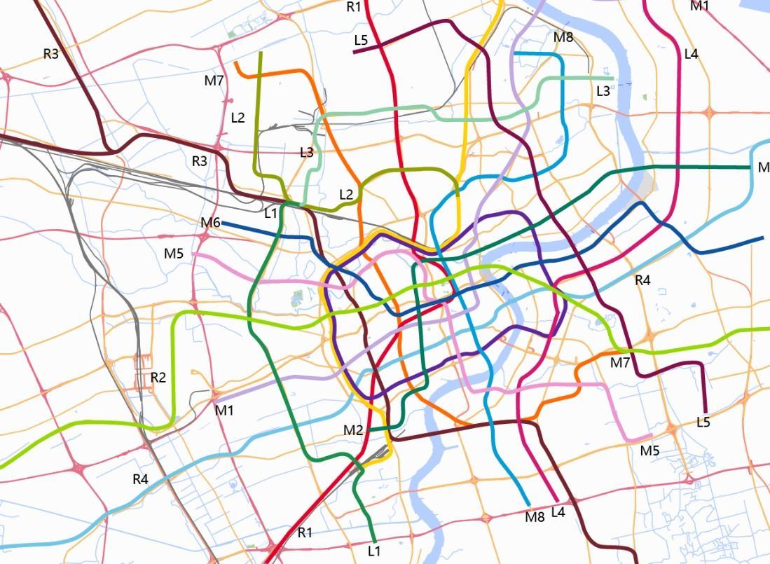 17号线规划图_上海地铁的规划发展(四)现实与理想的矛盾 - 知乎