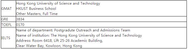 香港科技大学 全球运营硕士