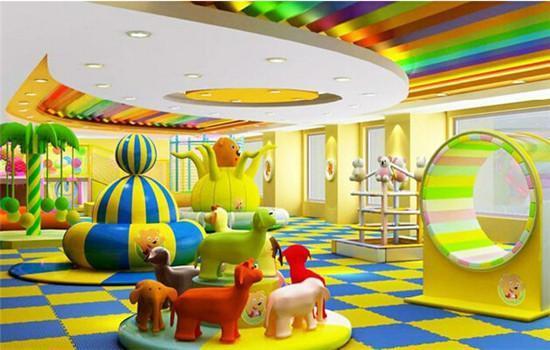 在商场里开一家儿童乐园能赚钱? 加盟资讯 游乐设备第4张