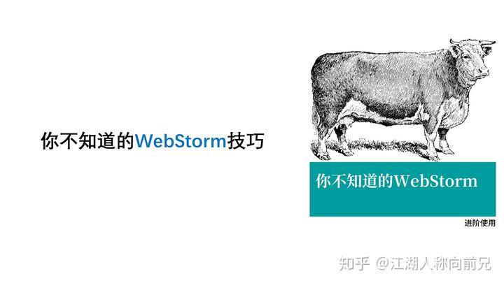 WebStorm 有哪些过人之处?
