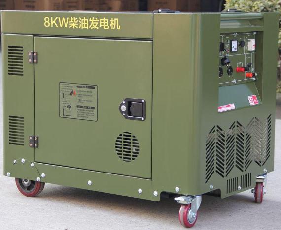 柴油发电机离建筑物距离-室外柴油发电机距离建筑