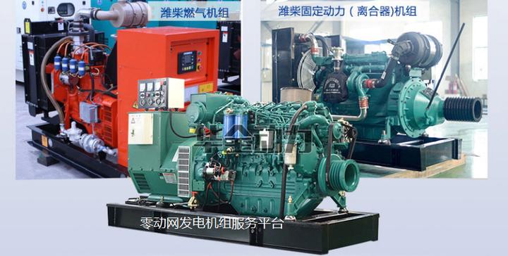 话去哪潍柴系列发电机组品牌产品图-零动网发电机组图片展示