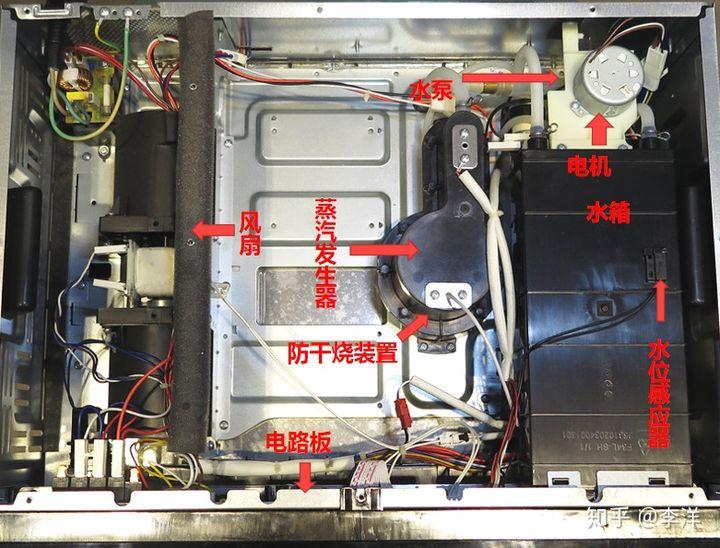 拆机评测:美的嵌入式蒸烤箱一体机TQN34FBJ-SA优缺点曝光 电器拆机百科 第11张