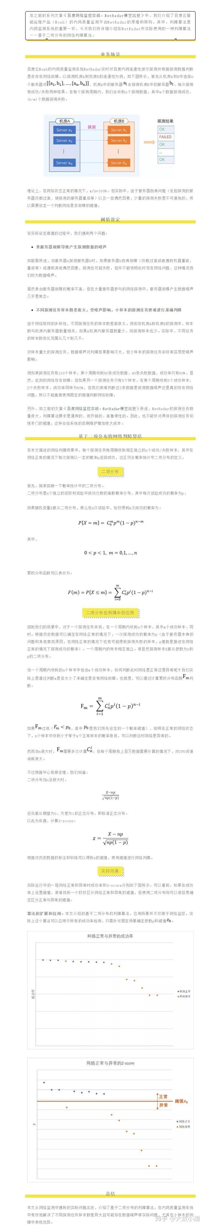 概率课本中的二项分布 ,为何能在网络判障中发挥大作用?-大数网