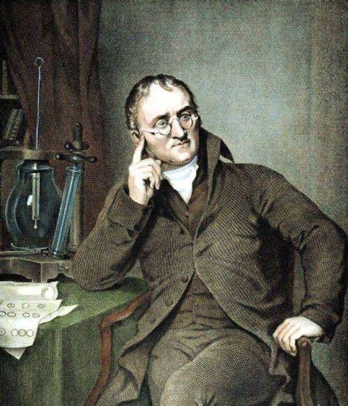 约翰·道尔顿,英国伟大的化学家、物理学家,也是世界上首个对色盲这种视觉缺陷进行详尽描述的科学家