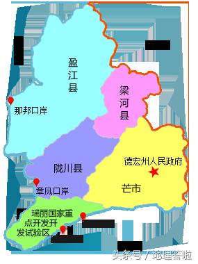 芒市属于云南的哪个市(芒市具体在哪里呢)