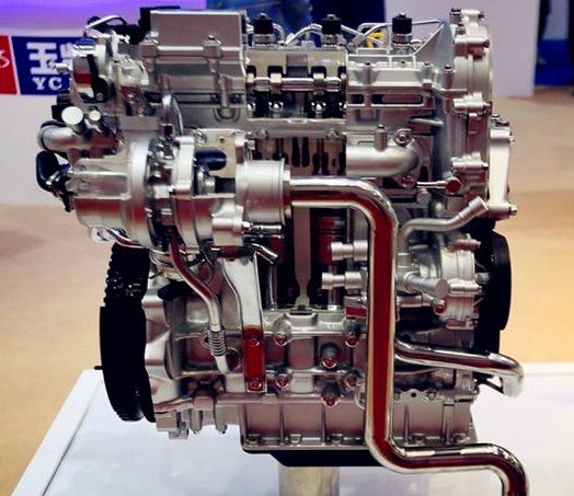玉柴发动机产品图