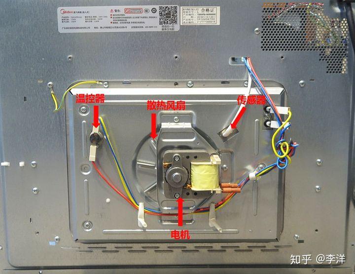 拆机评测:美的嵌入式蒸烤箱一体机TQN34FBJ-SA优缺点曝光 电器拆机百科 第18张