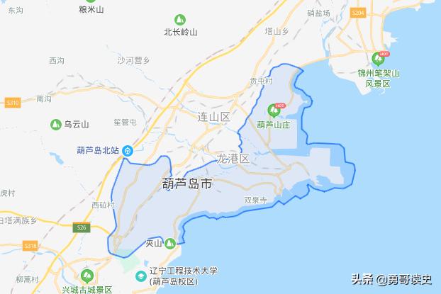 葫芦岛是哪个省(葫芦岛是不是岛呢)