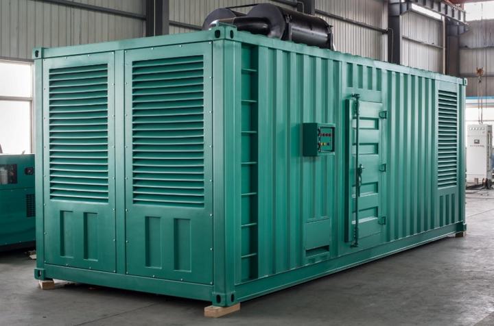 发电机组集装箱发电机图片