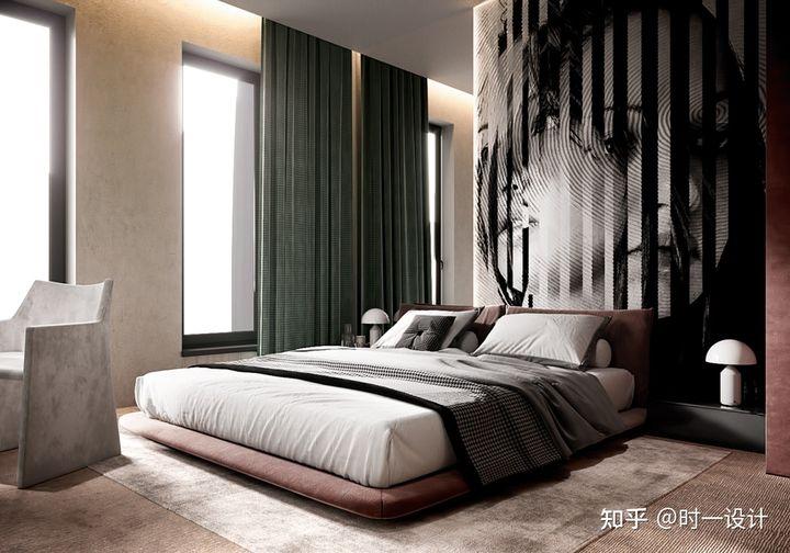 與星空同眠——酒店風臥室