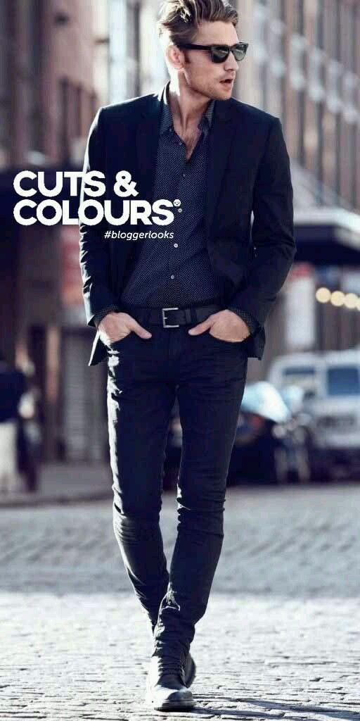 All Black,容易被忽视又时尚的穿衣搭配