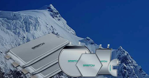 Grepow low temperature lithium battery cells with shaped battery