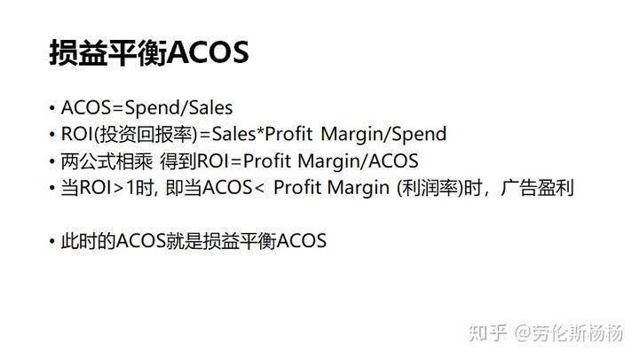 亚马逊CPC广告ACoS终极指南