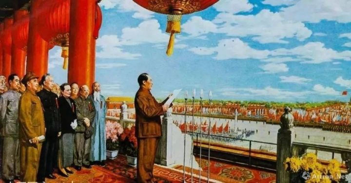 七十正芳华:画家笔下的国庆节
