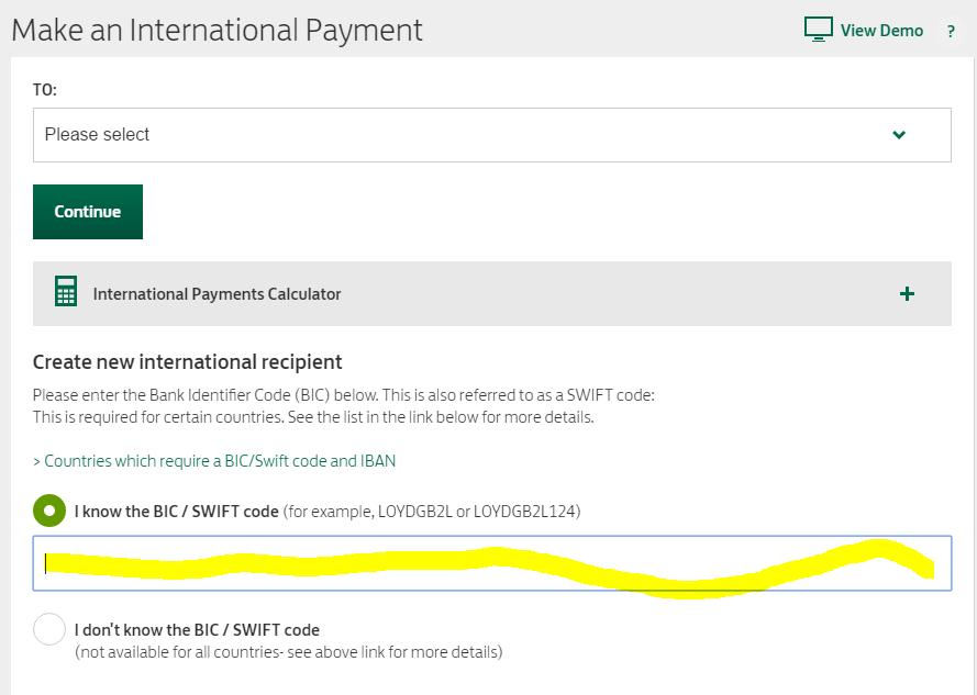 有人从英国lloyds Bank转账到中国银行的吗