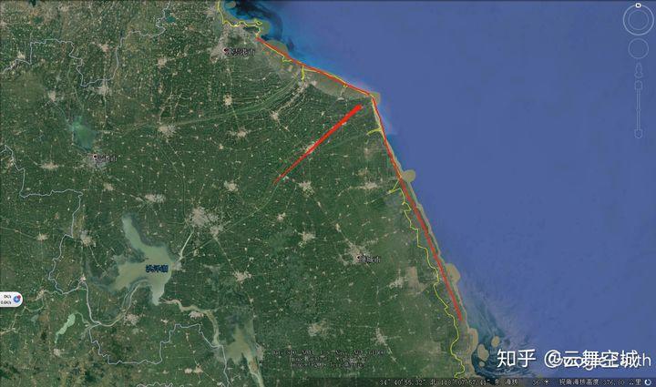 为什么江苏海岸线要比浙江福建广东海岸线平滑很多?-挖知识