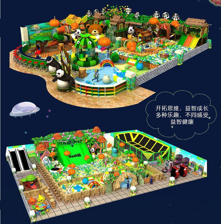 忻州儿童乐园加盟哪个好? 加盟资讯 游乐设备第4张