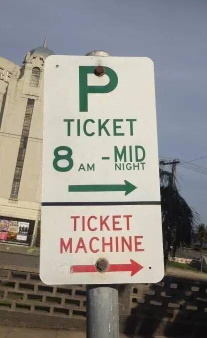 在澳洲如何停车?澳洲停车标志怎么看 9