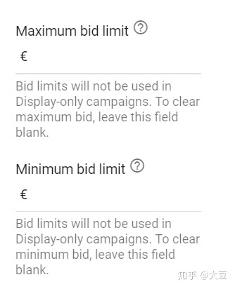 Google广告出价策略