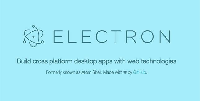 使用 Electron 构建桌面应用