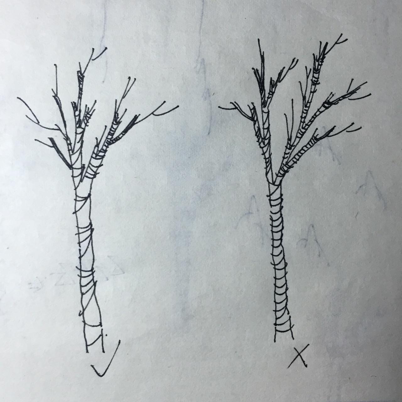 用点线面画一幅画简单_景观手绘中树怎么画比较好看? - 知乎