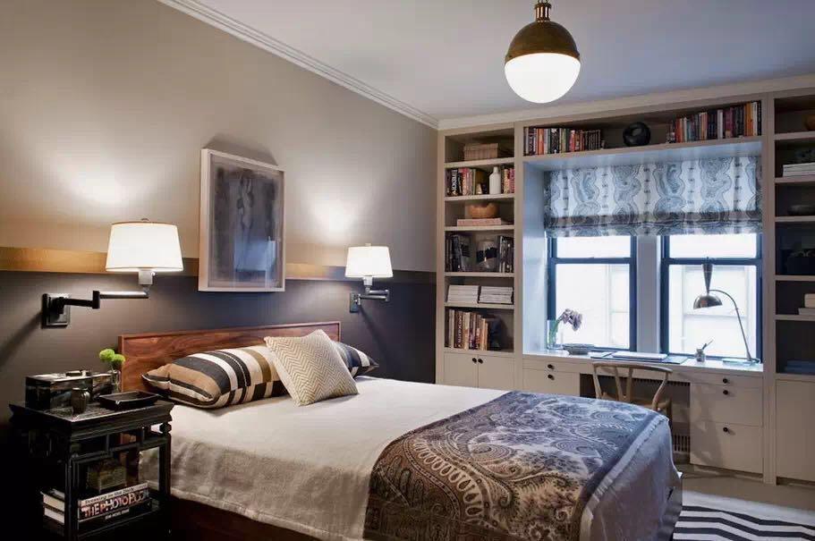 卧室不是只用一盏顶灯就够了