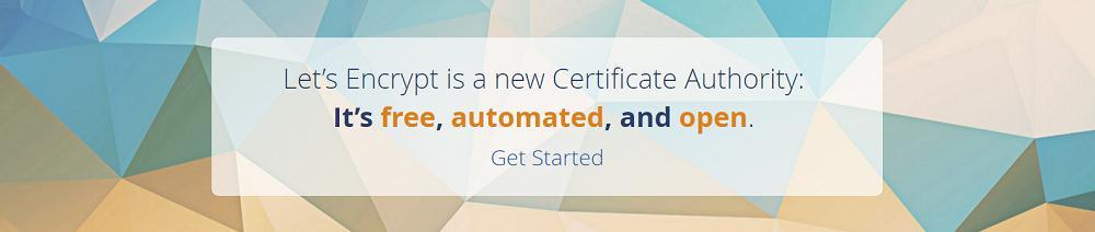 免费 https 证书(Let's Encrypt)申请与配置