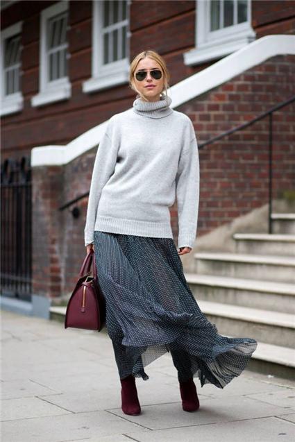 冬天穿什么短裙漂亮