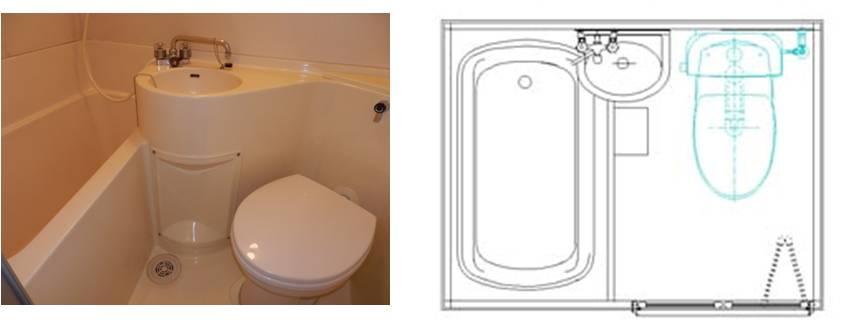 日本式精细化家居之一: 卫生间、洗面台、浴室和家务间设计