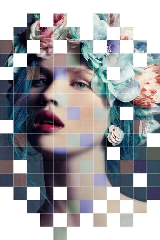 ps马赛克边框_如何用Photoshop制作美女马赛克创意效果? - 知乎