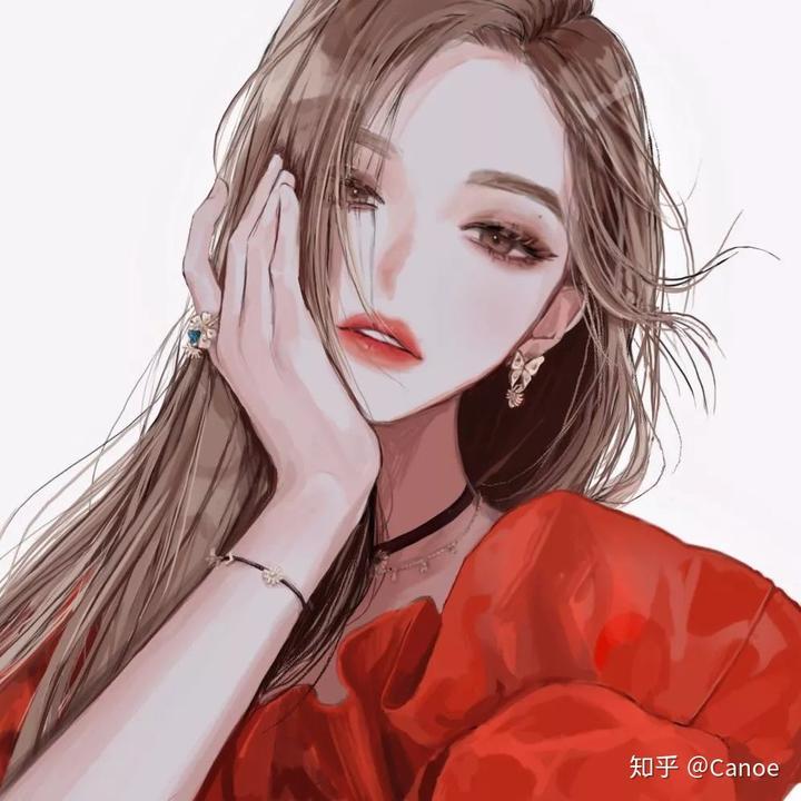 _有没有酷酷的女生动漫头像,显得高冷那种?